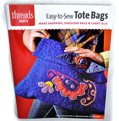 Easy-to-Sew Tote Bags Sewing Book