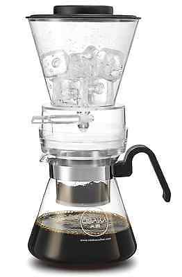 Osaka 4 Cup (20oz/600ml) Cold Brew Coffee Dripper, Adjustable Dripper with Glass
