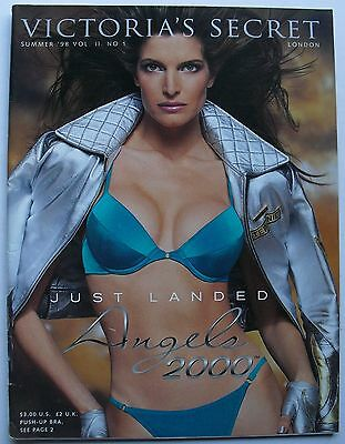 Vintage STEPHANIE SEYMOUR Summer 1998 VICTORIA'S SECRET Catalog ANGELS 2000
