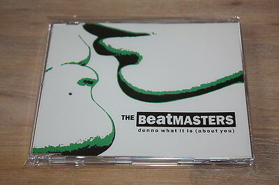 """3 """" Maxi-CD The Beatmasters """"Dunno what it is (about you)"""""""