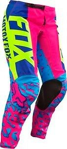 Fox Racing Youth Girls 180 Pants Pink Size 26