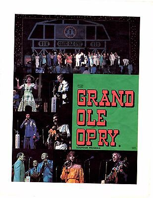 Grand Ole Opry Program from May 25-26, 1984