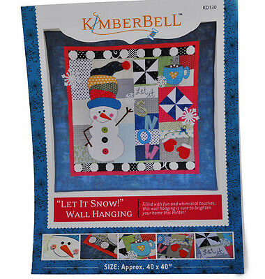 Let is Snow Wall Hanging Sewing Pattern