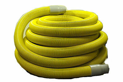 "K1145 Generic Yellow Carpet Extractor Hose 2"" X 50'"