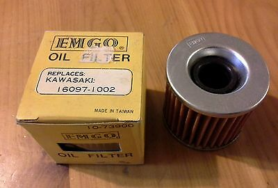 Nos- Emgo Oil Filter,  Replaces Kawasaki 16097-1002, Freeshipcanus