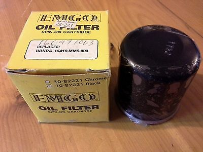 Nos- Emgo Oil Filter Honda 15410-Mm9-013, 10-82231 Black, Freeshipcanus