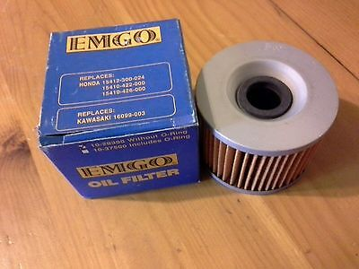 Nos- Emgo Oil Filter Without O-Ring 10-20300 Honda Kawasaki Freeshipcanus