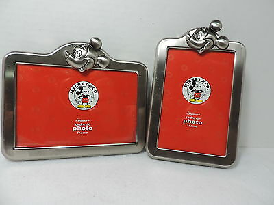 2 Mickey Mouse Picture Frames ( Mickey & Co.)