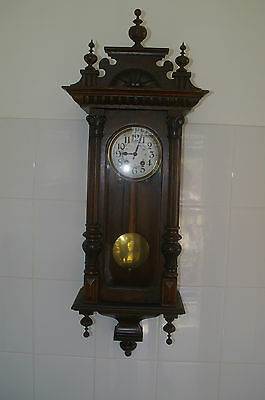 Antique Germany Wall Clock/working