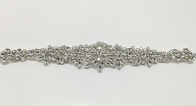 beautiful Crystal Bridal Sash-Rhinestone Wedding Dress Belt-Bridal Sash
