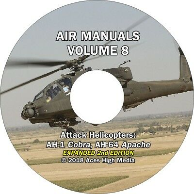 Attack Helicopters Flight manuals on CD AH-1 Cobra, AH-64 Apache