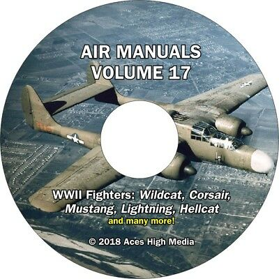 WWII Fighters Flight manuals on CD Corsair, Lightning, Mustang and many more!