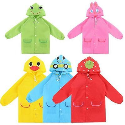 Baby Raincoat Funny New Rainwear Cute Cartoon Kids Children Waterproof