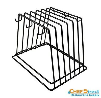 Powder Coated Cutting Board Rack with 6 Brush Hooks FREE SHIPPING!!!