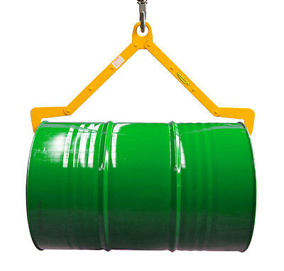Drum Lifting Clamp - Horizontal - Forklift Attachment - Made in Australia!