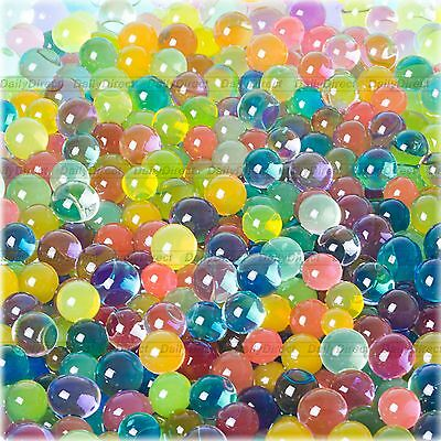 10bags Magic Crystal Mud Soil Water Beads Flower Plant Ball for Party-10colors
