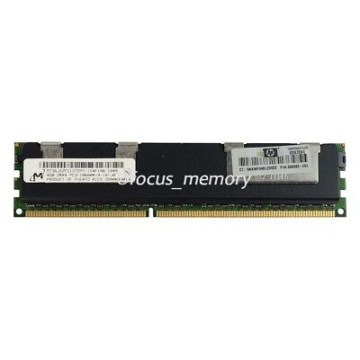 New Micron 4GB 2RX4 PC3-10600R  DDR3 1333mhz Only  ECC Server Reg Memory RAM