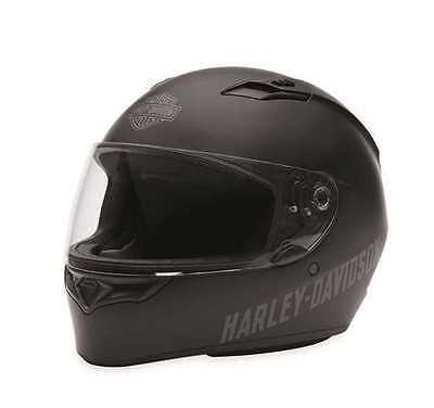 Harley Davidson Fulton Full Face Helmet Matt Black XL