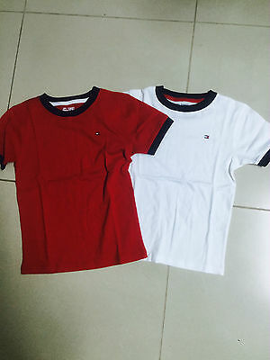 Authentic TOMMY HILFIGER BOYS TOP t-shirt sizes 4 5 6 7