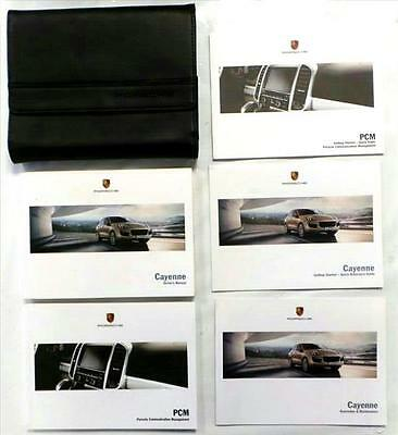 GENUINE Porsche Cayenne Owners Handbook Manual and Wallet 2014-16 - 5052451