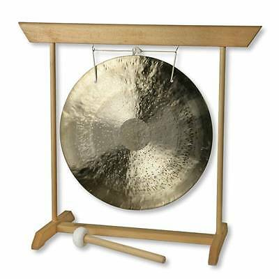 14inch Wind Gong or Feng Luo with Beech Wood Stand