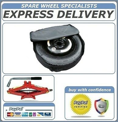 Mercedes C Class 2014-2018  Space Saver Spare Wheel 17 Lifting Jack & Cover