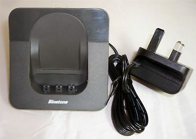 Binatone Luna 1120s Black Additional Handset Charging Base