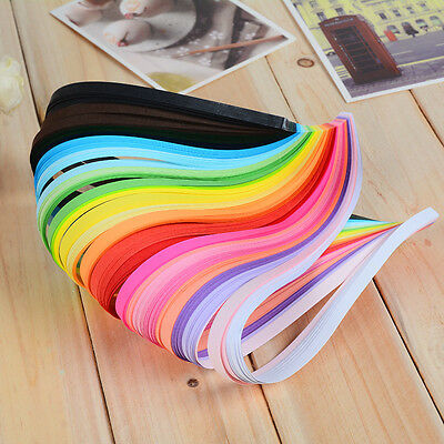 160Pcs Origami Lucky Star Paper Strips Folding Paper Ribbons Colors DIY Crafts