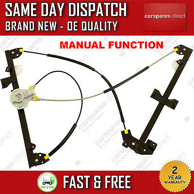 For Peugeot Partner 1996>2008 Front Right Side Manual Window Regulator Oe 9222A4