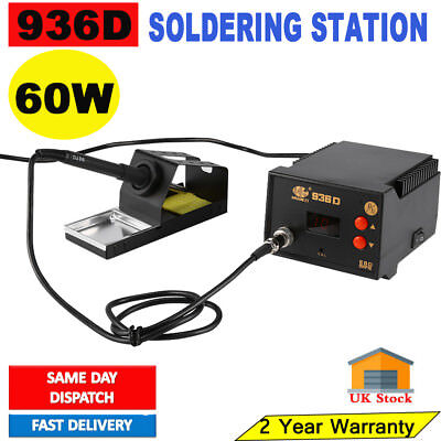 936D Constant Temperature Soldering Station Welding 60W Esd Led Display Hot