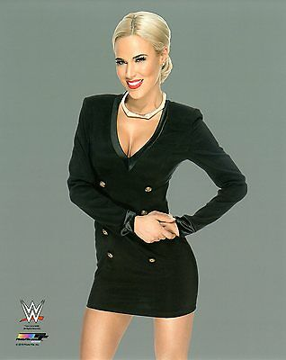 """LANA WWE PHOTO WRESTLING GENUINE OFFICIAL 8x10"""" PROMO NXT"""