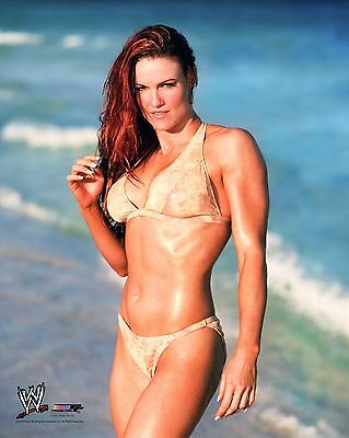 "LITA WWE PHOTO 8x10"" OFFICIAL WRESTLING PROMO HOT DIVA"