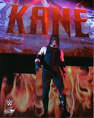 WWE PHOTO KANE WITH MASK ON ENTRANCE WRESTLING 8x10 GLOSSY PROMO BRAND NEW