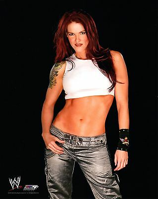 "LITA WWE PHOTO 8x10"" OFFICIAL WRESTLING PROMO SEXY HOT"