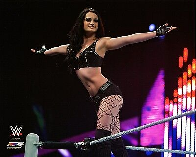 "PAIGE WWE PHOTO  8x10"" OFFICIAL WRESTLING PROMO PHOTO"
