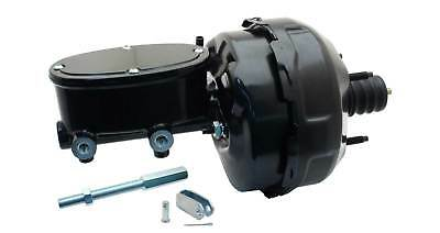 """Universal 9"""" Dual Power Brake Booster & Wilwood Style Oval Master Cylinder"""