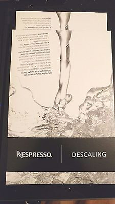 Descaling Kit Clean Nespresso Systems Two Bags Kosher  Brand Fluid Kit Universal