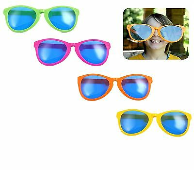 Giant Oversized Jumbo Novelty Sunglasses Fun Joke Fancy Dress Stag Hen Do Clown