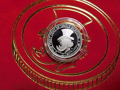 Rare Walt Disney Fist Cent of Uncle Scrooge Pure Silver 986/1000 LE Coin in Box