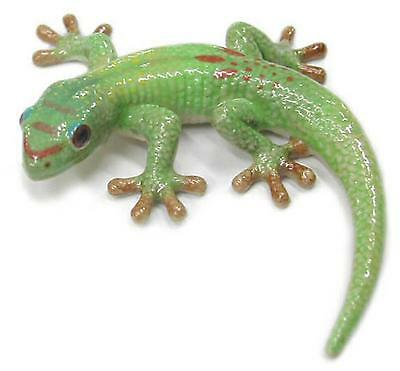 Northern Rose Miniature Porcelain Animal Figure Gold Dust Day Gecko R351