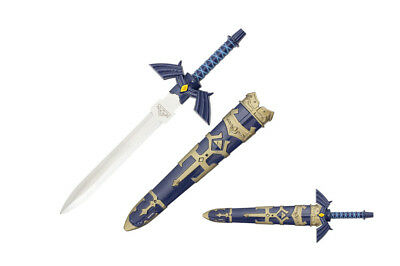 "11.5"" Legend of Zelda Hylian Hyrule Ocarina of Time Master Sword Short Dagger"