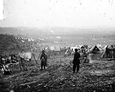 New 11x14 Civil War Photo: Federal Outer Line During the Battle of Nashville
