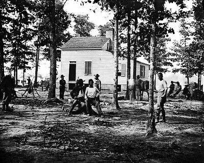 New 11x14 Civil War Photo: The Quarles House Near Fair Oaks, Virginia - 1862