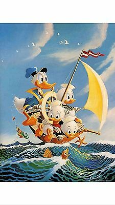 Oil painting HD art Prints on canvas,Donald Duck 12x16 inch
