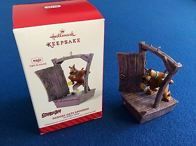Scooby Doo: Scooby Gets Spooked - 2014 Hallmark Keepsake Christmas ornament, New