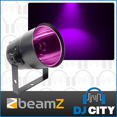 Black Light Par Can UV with Lamp and Bracket Make White and Neon Colours Glow