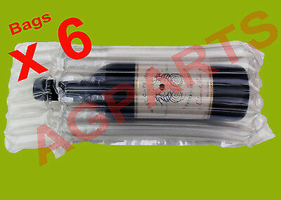 Inflatable Air Packaging  Protective  Bubble Pack  Wrap Bag For Wine Bottle X 6