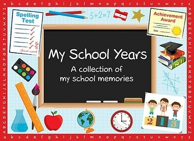 2 x My School Years Books - (Two Books with Combined Postage) child memories