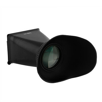 "LCD Screen Viewfinder 2.8X V1 3"" 4:3 Eyecup Extender For Camera Canon 5D"