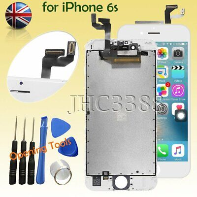 """LCD Touch Screen Digitizer Display Assembly White for iPhone 6S 4.7"""""""